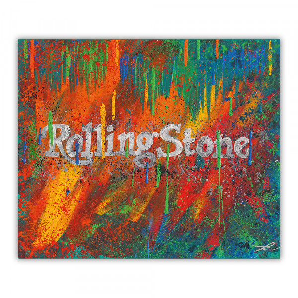 Acrybild Rolling Stone (Unikat)