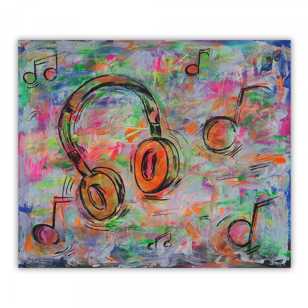 Acrylbild Music (Unikat)