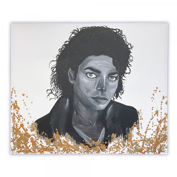 Acrybild Michael Jackson (Unikat)