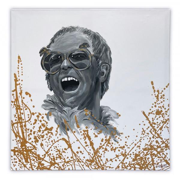 Acrybild Elton John (Unikat)